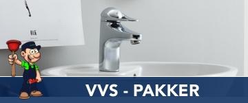 VVS & Kloak service Pakker - inkl. montering